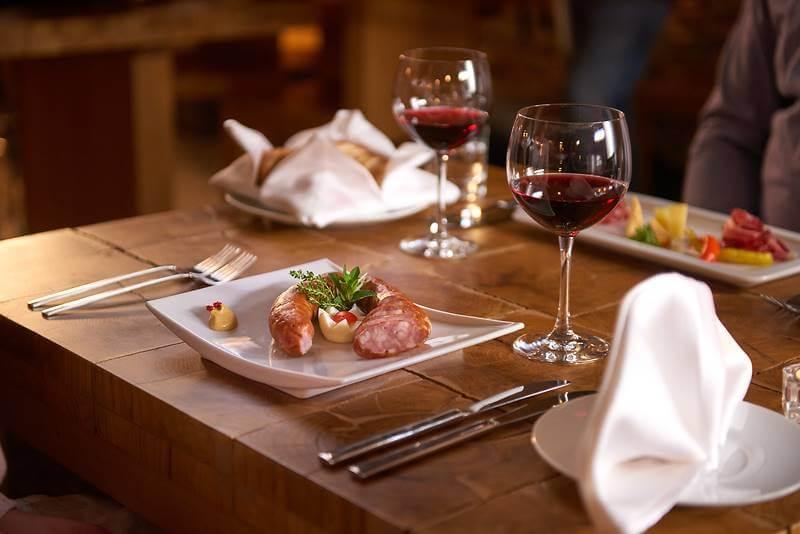 Carniola sausage and Teran wine