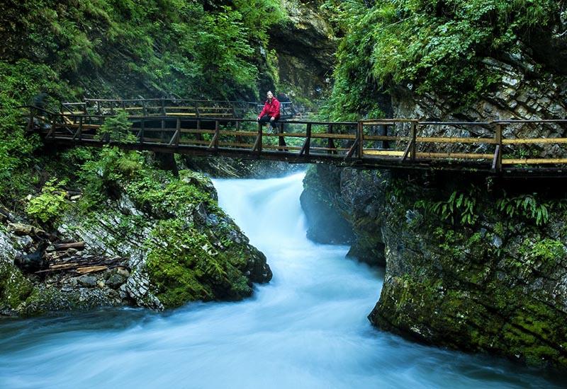 Lovely hike at Vintgar gorge