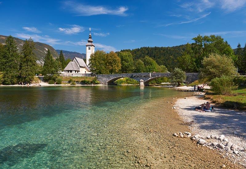 Pure nature at Bohinj lake