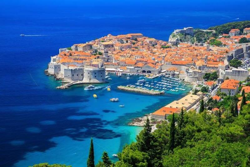 Dubrovnik, pearl of Adriatic