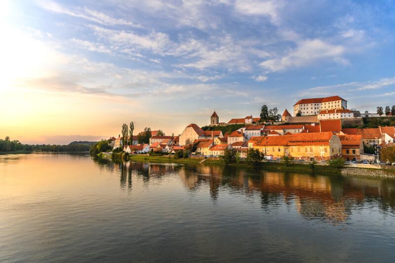 Ptuj is an old town in Slovenia, Ptuj city tour
