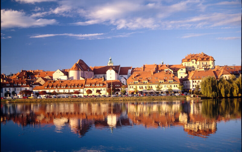 MARIBOR river Drava, Lent, Maribor city tour